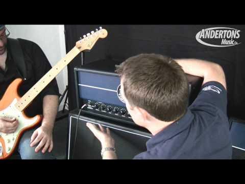 Jet City JCA100H And JCA2112RC Soldano Designed Guitar Amp Demo Part 1