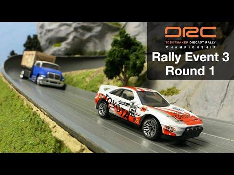 Diecast Rally Championship #3 - Round 1 | DRC Car Racing Series