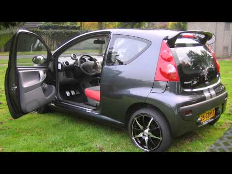 peugeot 107 tuning youtube. Black Bedroom Furniture Sets. Home Design Ideas