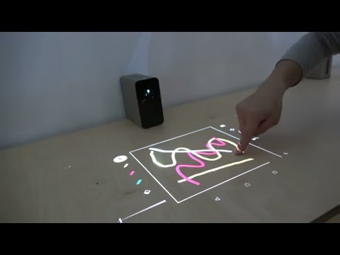 "Sony Xperia Touch, Projector Turns Any Table Or Wall Into A 23"" Android Tablet"