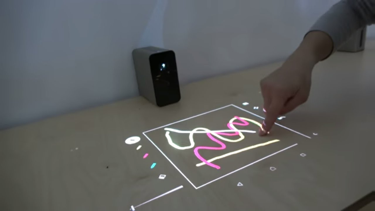 Sony Xperia Touch Projector Turns Any Table Or Wall Into