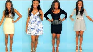 5 DRESSES FOR 5 BODY TYPES