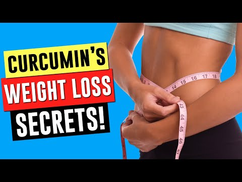 CURCUMIN: YOUR SECRET WEAPON for WEIGHT LOSS!