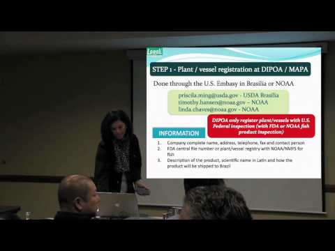 Brazil: Legal Requirements to Export Fish and Fishery Products Pt 3 of 3