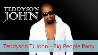 Teddyson TJ John - Big People Party [Lord Kitchener Riddim][2012 St.Lucia Soca][Dwaingerous BIM]