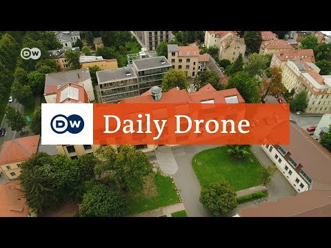 #DailyDrone: Bauhaus University in Weimar