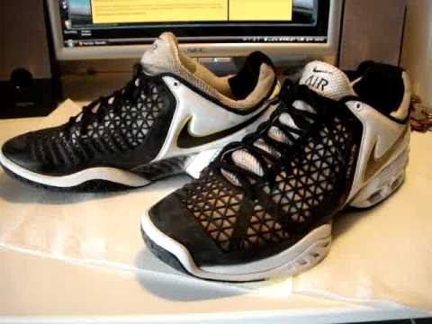 buy popular 671b2 d0b89 Nike Air Max Breathe Cage II Black White Yellow Shoes - YouTube