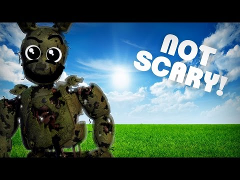 How to Make Five Nights at Freddys 3 Not Scary: The  Threequel