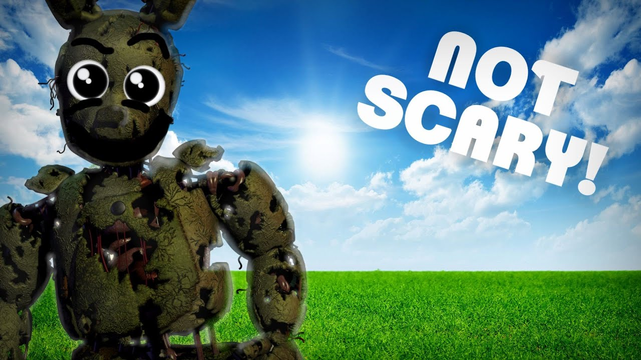 How to make five nights at freddy 39 s 3 not scary the official threequel youtube - Fnaf 3 not scary ...