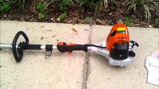 Stihl Kombi motor with Craftsman and Homelite attachment