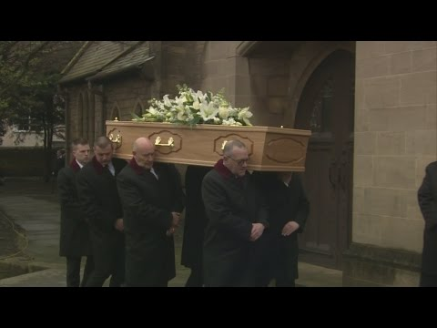 This Morning stars remember Denise Robertson at her funeral