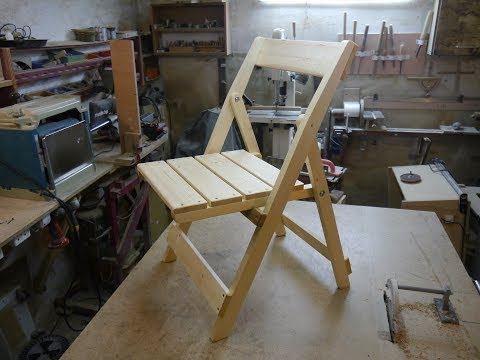 Как сделать складной стул