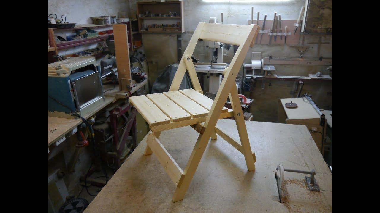 Чертежи раскладного стула со спинкой своими руками