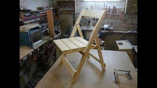 Складной стул для дачи. Homemade chair....
