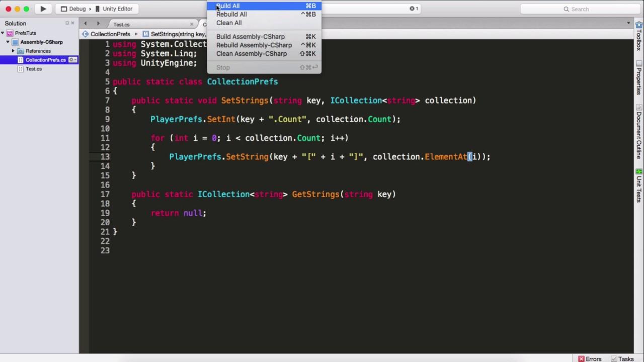Unity : PlayerPrefs - Get & Set Collection (Array, List)