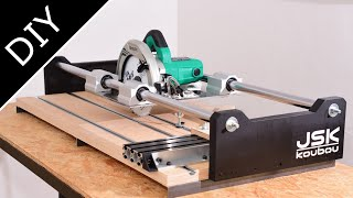 Making a 2-in-1 Circular Saw Slide Guide (Easy Panel Saw)