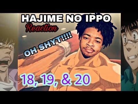 Hajime No Ippo Episodes 18, 19, & 20 [ Live Reaction ]