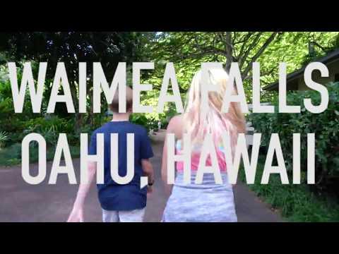WAIMEA FALLS, OAHU HAWAII | VLOG 12 | COME SEE THE BEAUTIFUL PARK WITH US!