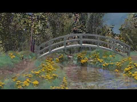 Claude Monet, 3d Animation - Luca Agnani Studio