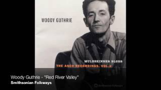 woody guthrie   red river valley