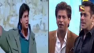 Salman and shahrukh best moment in dus ka dum.