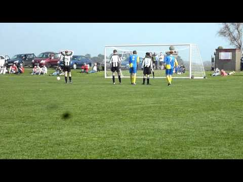 St John's Andy Glover's penalty v Colby Woods Cup ...