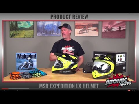 MSR Expedition LX Helmet review by Atomic-Moto