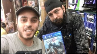 Purchasing GOD OF WAR 2018 from Palika Bazar, Delhi + Unboxing VLOG