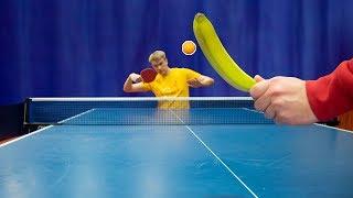 Banana Table Tennis