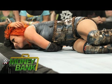 Natalya blindsides her own partner, Becky Lynch: WWE Money in the Bank 2016 on WWE Network