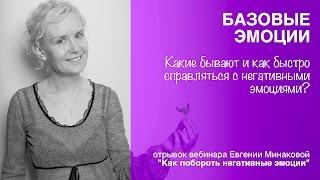 4. Базовые эмоции. Евгения Минакова, 2016-11-21