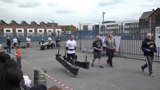 Jimmy Young   Britains Strongest Man 80Kg Comp 2012   Event 5   Farmers Walk