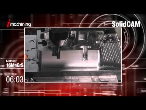CNC Cutting Software – iMachining Turbomode – SolidCAM iMachining