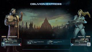 StarCraft II Brutal MENGSK COOP NOVA Oblivion Express