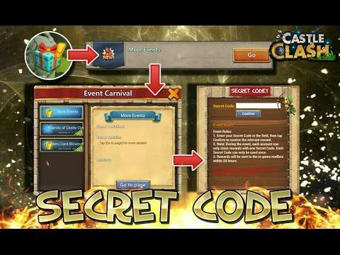 Castle Clash: Secret Code Giveaway Results!