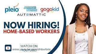 Get Paid $14-$18/hr! Now hiring at Pleio, American Express, GoGoKids!