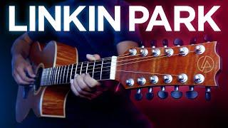 ВЗРЫВНЫЕ хиты LINKIN PARK на 12-ти струнке