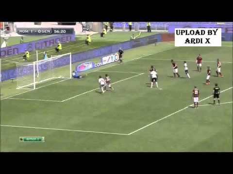 AS Roma vs Genoa ( 2 - 0 ) All Goals Highlights 2015