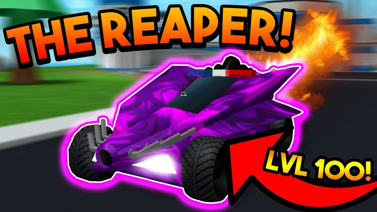 Getting The New 3 Million Fastest Car Fury Roblox Mad City New - Stealing The Reaper Level 100 Car Roblox Mad City Youtube
