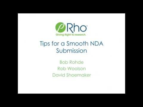 Tips for a Successful NDA Submission