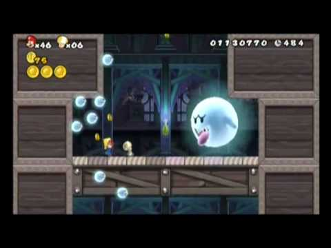 New Super Mario Bros Wii World 3 Cannon Youtube