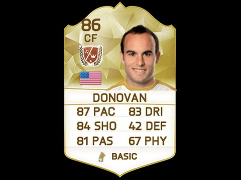 FIFA 16 | LEGEND LANDON DONOVAN 87 In-Depth Player Review w/ Gameplay!