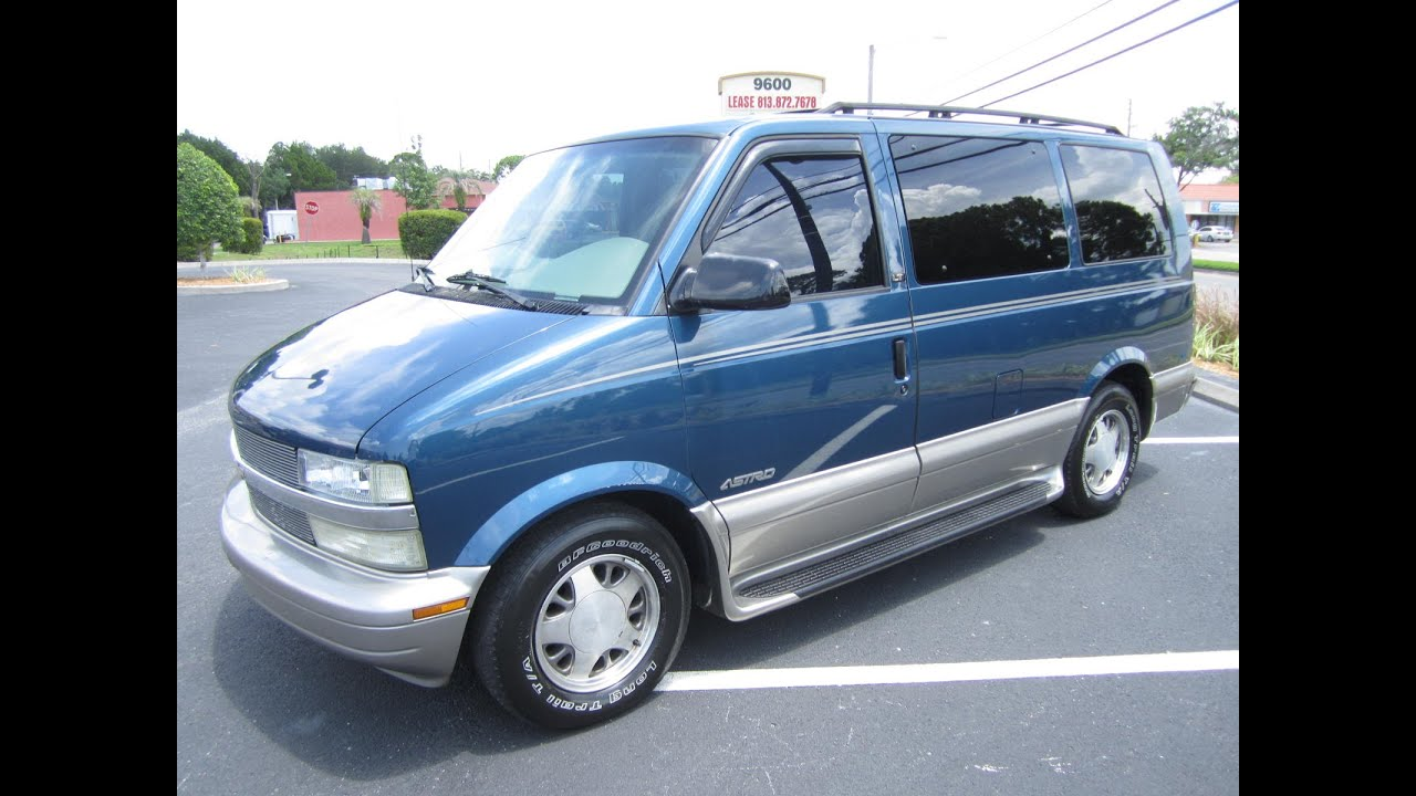 medium resolution of sold 2002 chevrolet astro van lt meticulous motors inc florida for sale
