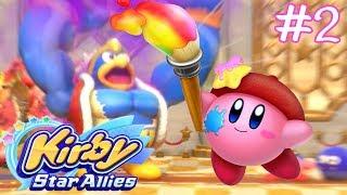 เคอร์บี้ กับ บอสเกรี้ยวกราด !! | Kirby Star Allies #2