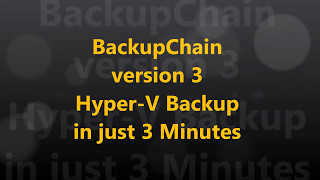 Tired of Bloated Hyper-V Backup Software? Try BackupChain!