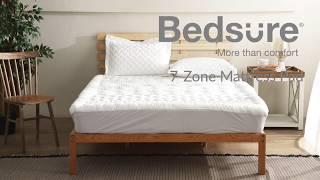 Bedsure 7-zone Design Mattress Pad