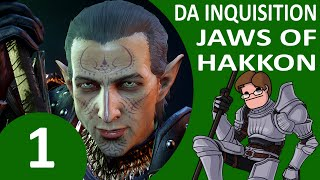 Let's Play Dragon Age Inquisition: Jaws of Hakkon DLC Part 1 - Frostback Basin (Nightmare)