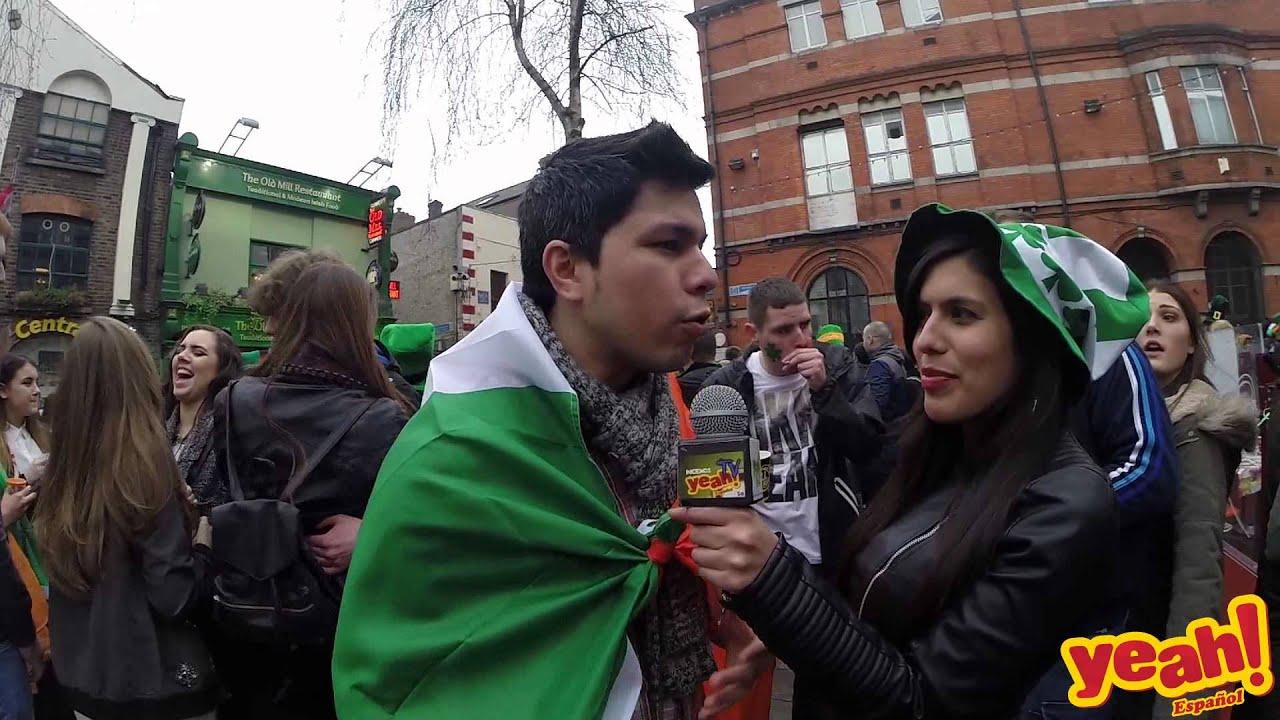 yeah espanol en st patricks day 2015 youtube