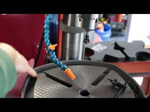 "Building Coolant System for Porter Cable 15"" Drill Press"