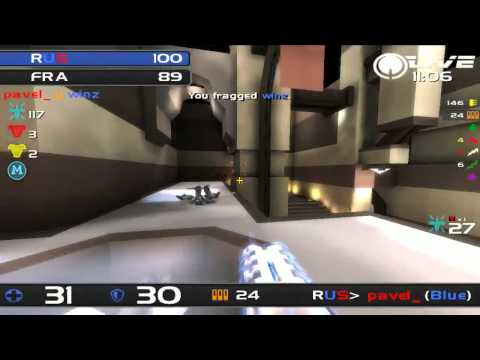 ClanBase Nations Cup 2012 - France v Russia - Quake Live TDM - MAP 2